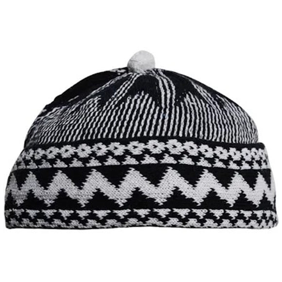 Men's Wool Knit Cap Hat - almanaar Islamic Store