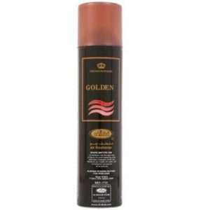 Golden Air Freshener Spray 300ml Al Rehab - almanaar Islamic Store