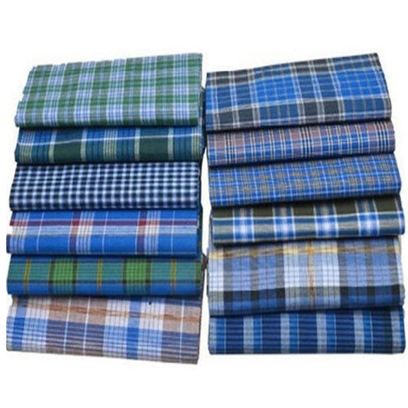 Men's 100% Pure Cotton Bangladeshi Lungi