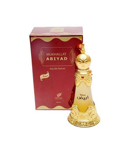 Mukhallat Abiyad Concentrated Perfume 20ml Afnan - almanaar Islamic Store