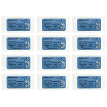 Load image into Gallery viewer, Suturing Doctor™ 6-0 POLYPROPYLENE BLUE Training Sutures - 12 Pack