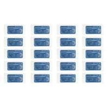 Load image into Gallery viewer, Suturing Doctor™ 4-0 POLYPROPYLENE BLUE Training Sutures - 20 Pack