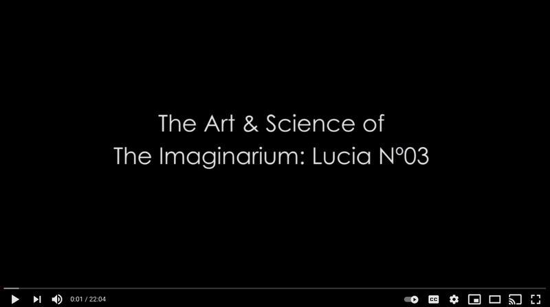 The Art & Science of Lucia N⁰03: Interview 2013