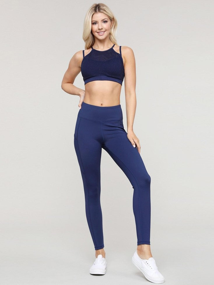 Athletic Leggings // Navy