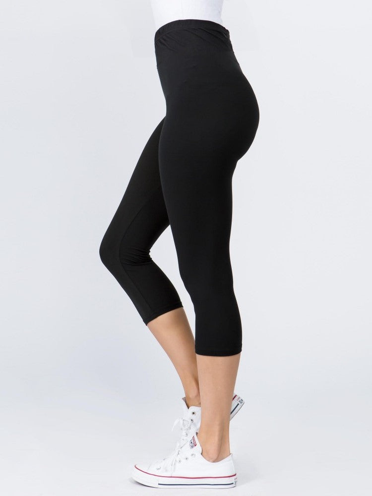 Everyday Capri Leggings // Black