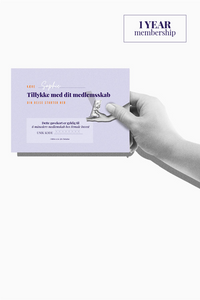 Print-it-yourself Gift Card, 1 year (Danish)