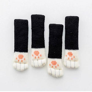 Cat Paw Chair Socks (4 pack)