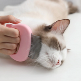 Pet Hair Removal Massaging Shell-Comb
