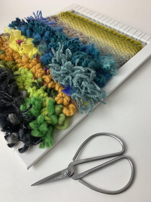 SOLD OUT! Introduction to Tapestry Weaving on a Frame - January 9, 2021 (online)