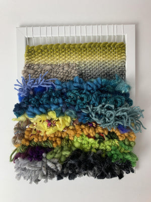 NEW DATES: Let's Weave on a Frame Loom! March 16th & 23rd (online)