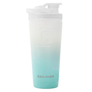 26oz Mint/White Ombre Ice Shaker