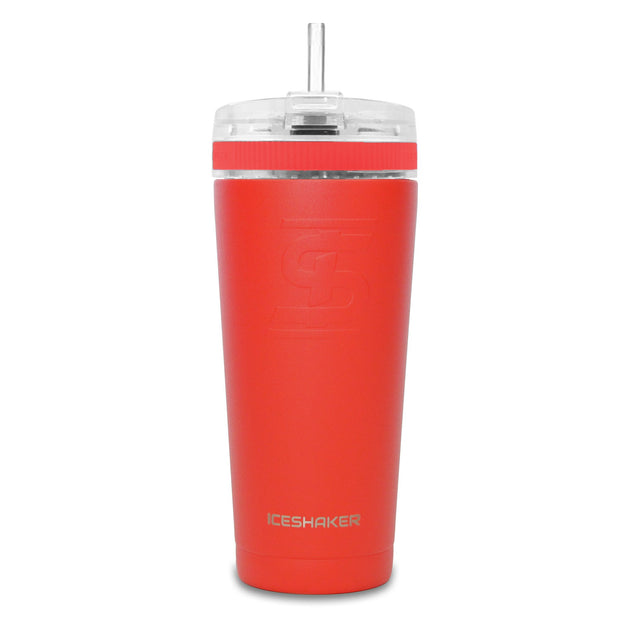 26oz Red w/ Flex Lid