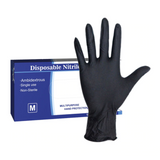 Disposable Black Gloves (100pcs) - ApeSurvival