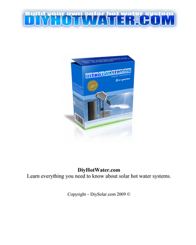 Build your own Hot Water System (eBook)