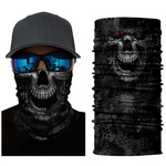 Midnight Skull Face Shield - ApeSurvival