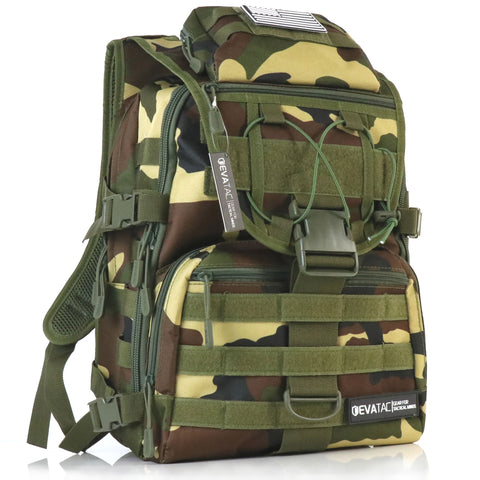 EVATAC Combat Bag Jungle Camo