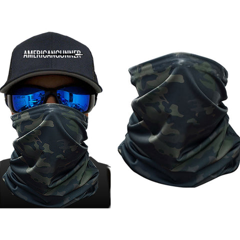 Midnight Camo Face Shield - ApeSurvival