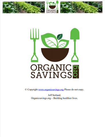 The Organic Savings Guide (eBook)