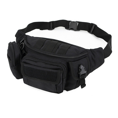 Tactical Waist Pack (Black) - ApeSurvival