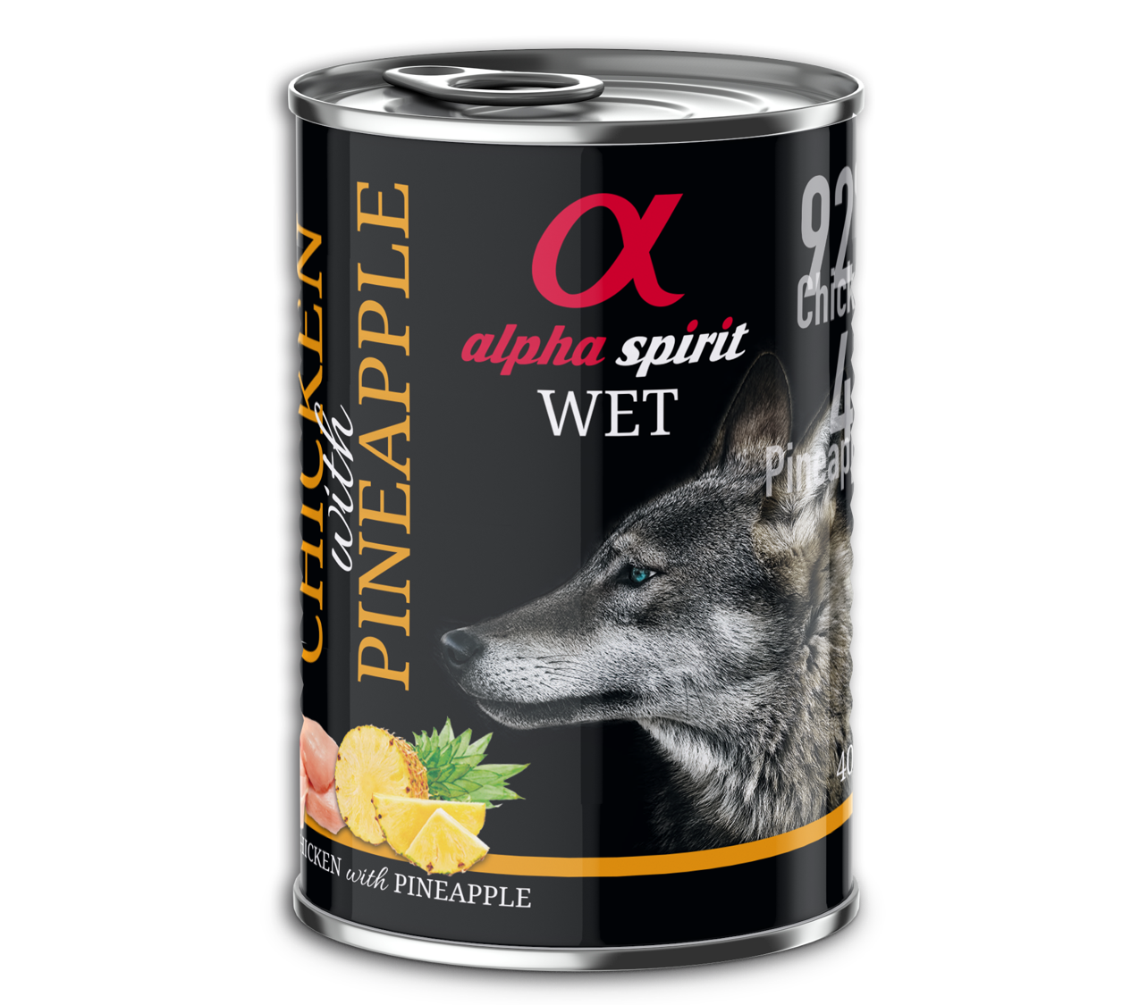 CHICKEN WITH PINEAPPLE WET FOOD
