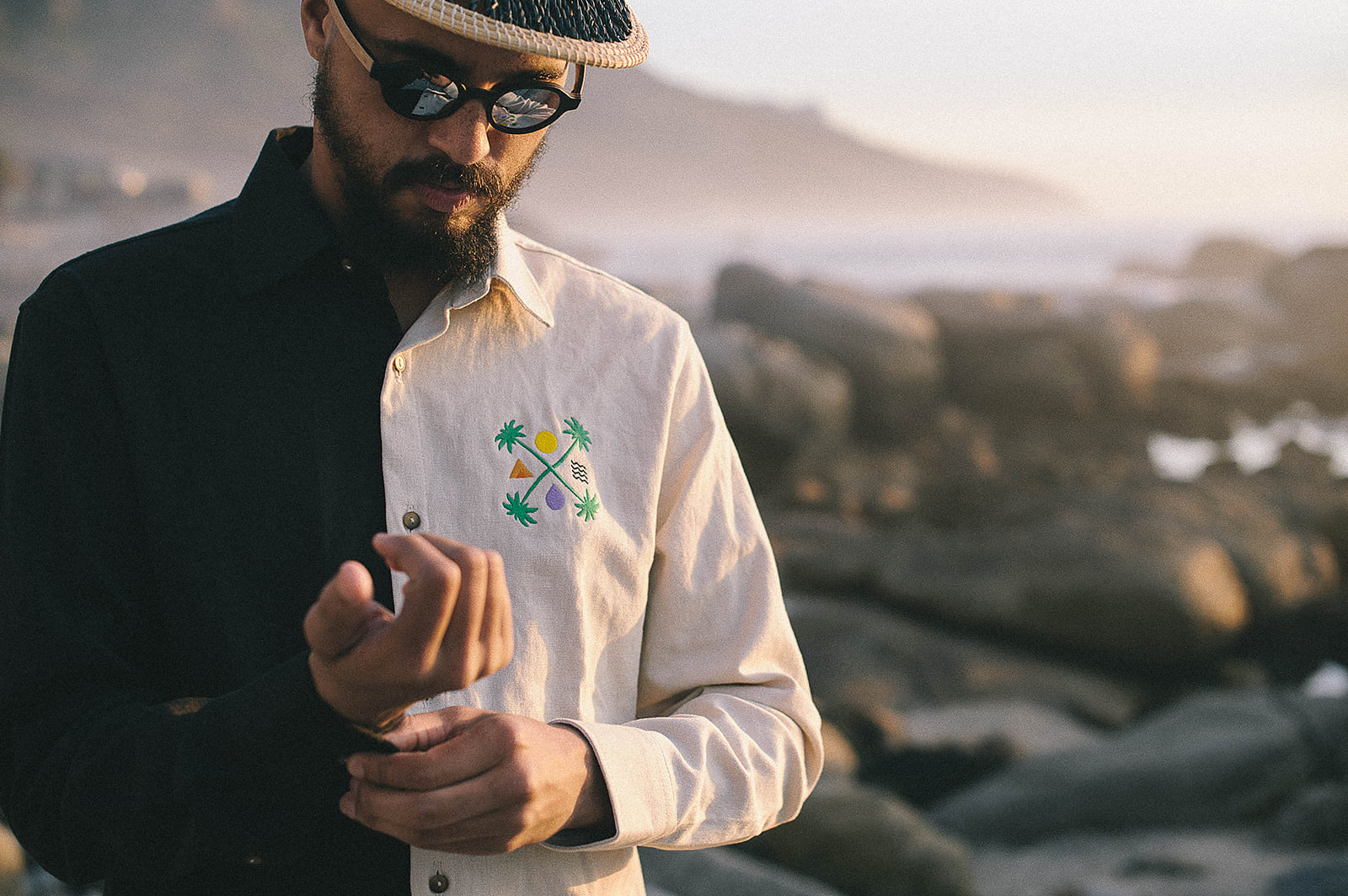 The Ballo Beach Club Hemp Rugby jersey capsule drop at Rowing Blazers NYC