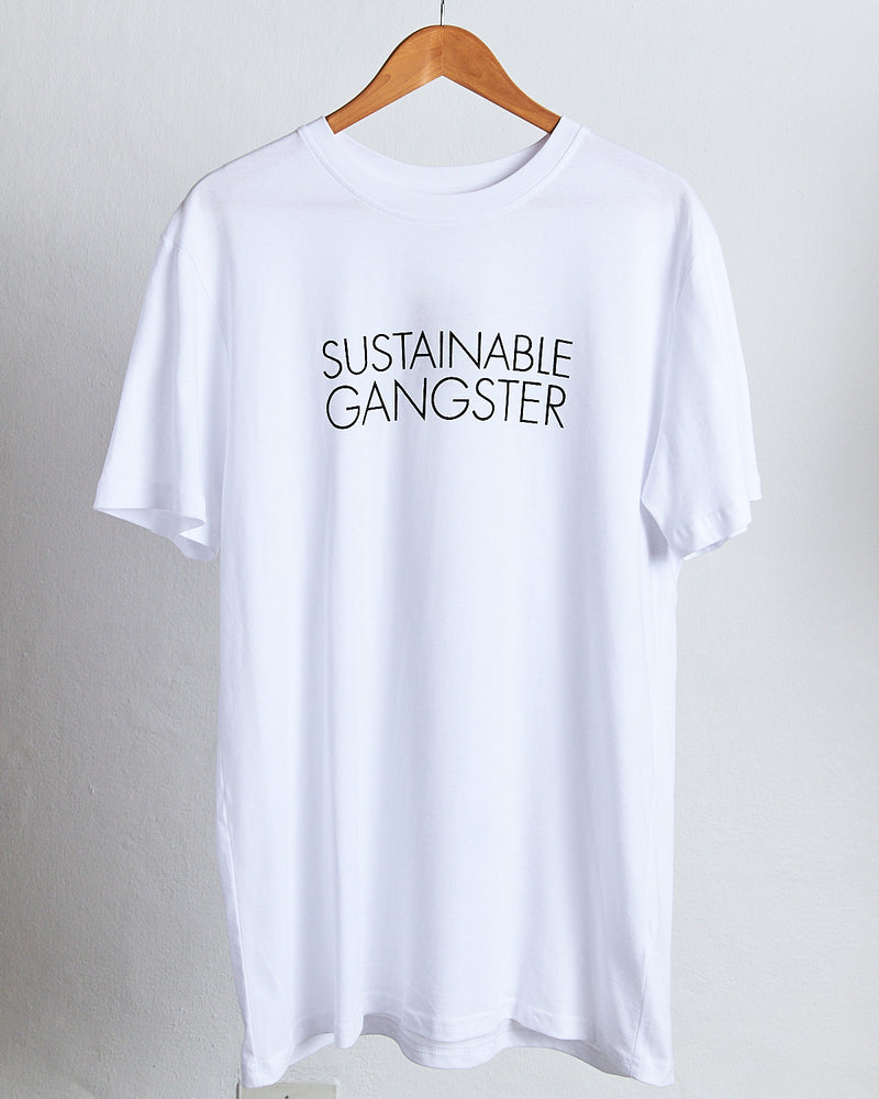 Cotton T-Shirt / Sustainable Gangster