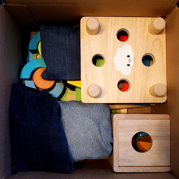 Toy Exchange Club's Zero-Waste Toy Subscription Packaging