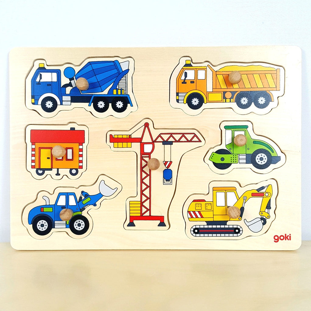 Building Site Vehicles Puzzle