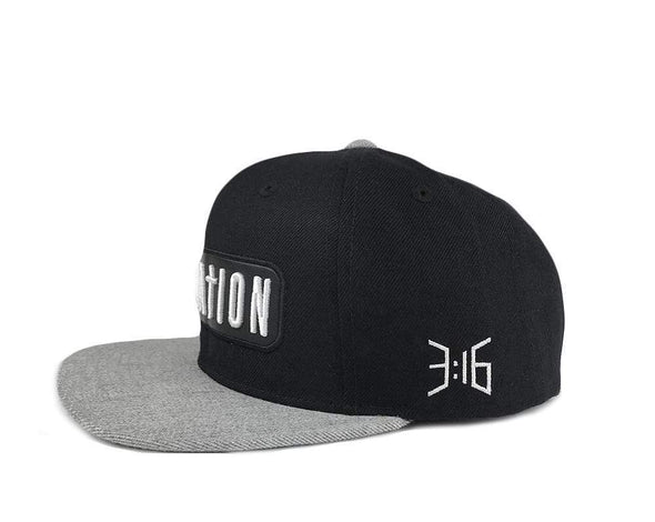 T.D. Jakes - Salvation Blk-Grey Hat