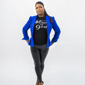 T.D. Jakes Crew-Neck T - Woman of God