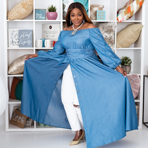 T.D. Jakes - Divine In Denim Dress