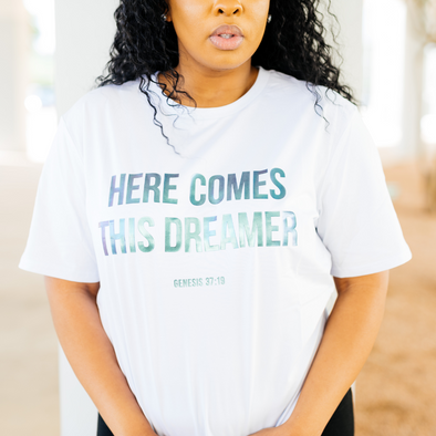 T.D. Jakes - Here Comes This Dreamer Adult T-Shirt