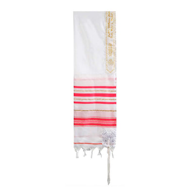 T.D. Jakes - Tallit - 12 Tribes - Pink