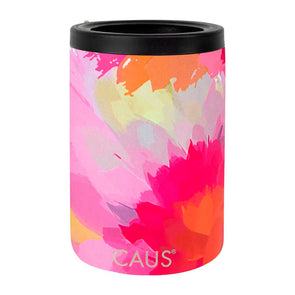 T.D. Jakes - SS Can Cooler Watercolor Flower CR