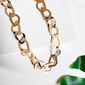 T.D. Jakes - Necklace Estonia Blonde Tortoise