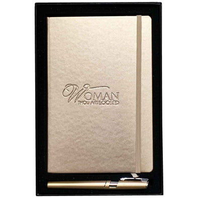 T.D. Jakes - 2 Piece Gift Set - Gold Journal & Stylus Pen