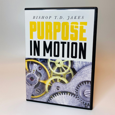 T.D. Jakes - Purpose in Motion 3 DVDS