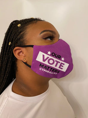 T.D. Jakes - Our Vote Matters Mask