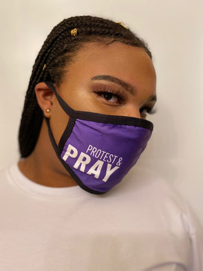 T.D. Jakes - Protest and Pray Mask