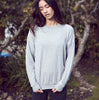 Alo Yoga | Soho Pullover | Dove Grey Heather | Sweatshirt | Activewear | Loungewear | Leisurewear