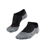 RU 4 Invisible Running Socks - Black