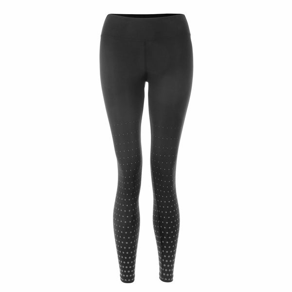 On The Go 7/8 Leggings - Black/Grey Hexagon