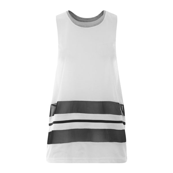 Abbey Tank - White
