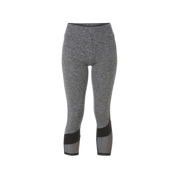 Porter Curve Panel Legging - Charcoal
