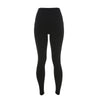 High Waist Ripped Warrior Leggings - Black