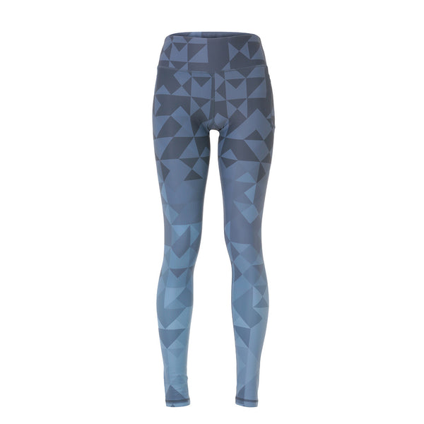 Matrix Leggings - Stormy Nights