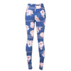 Vintage Wildflower Leggings - French Blue