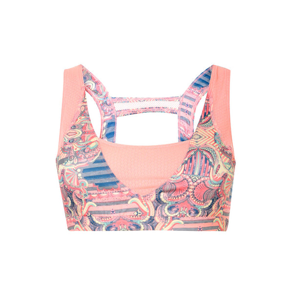 Ashtani Printed Sports Bra