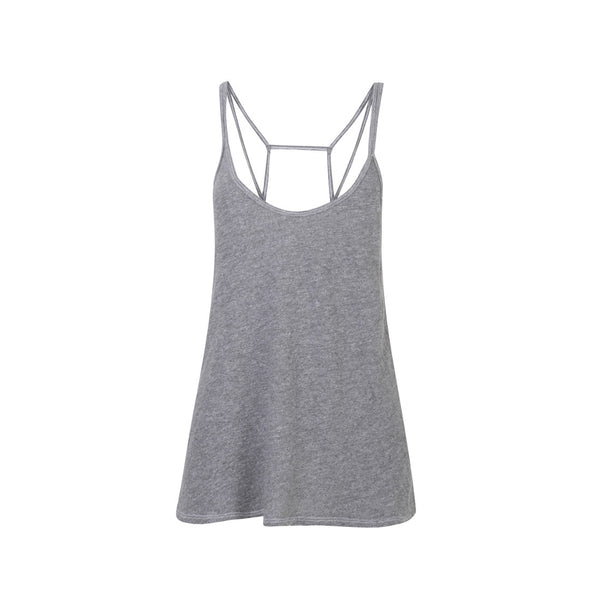 Cross Back Vest - Heather