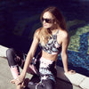 Seafolly | Bali Hai Crop Top | sports Bra | Activewear | Beach | Swim | Bikini